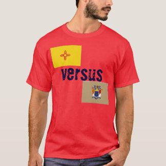 New Mexiko gegen New-Jersey T-Shirt