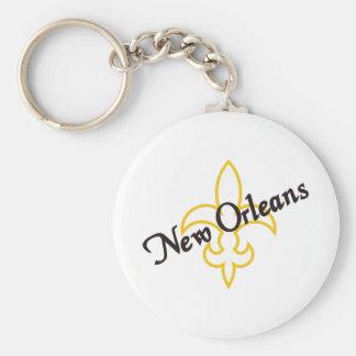 New Orleans Standard Runder Schlüsselanhänger