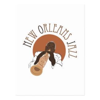 New- Orleansjazz Postkarte
