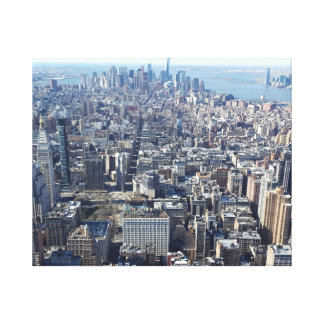 New York City Galerie Gefaltete Leinwand