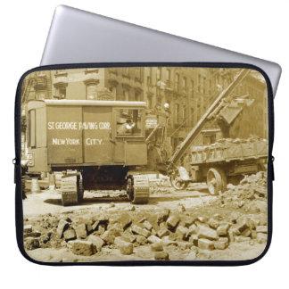 New- York Citybau-Kranzwanziger jahre Nordwest Laptopschutzhülle