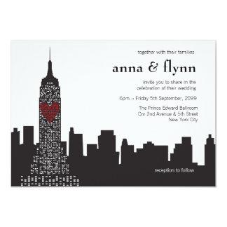 New York CitySkylinecityscape-Party Einladung