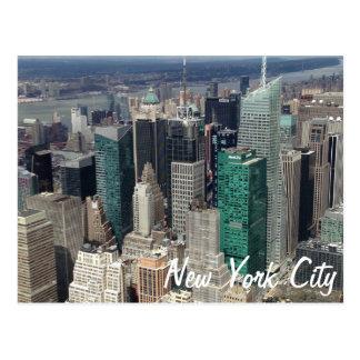 New- York Citywolkenkratzer-Postkarte Postkarte
