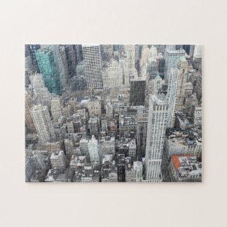 New- York Citywolkenkratzer von oben Puzzle