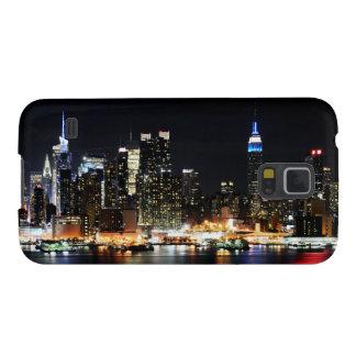 New York nachts Samsung S5 Hülle