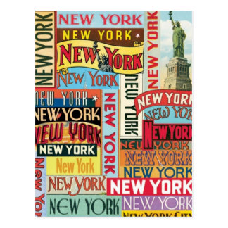 New York New York Postkarte