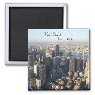 New York, New York Quadratischer Magnet
