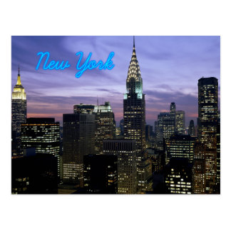 New York Postkarte