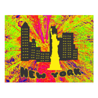 New York Postkarte