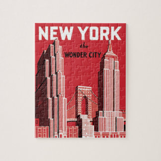 New York The City wonder Puzzle