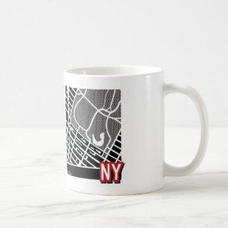 New- Yorkkarte Tasse