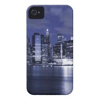 New- YorkSkyline nachts iPhone 4 Cover