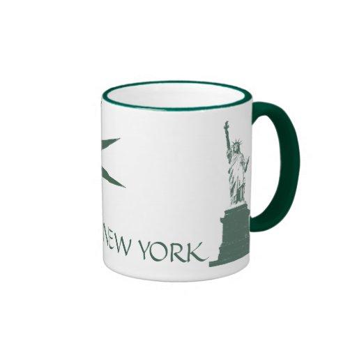 New- YorkTassen-New- Yorkfreiheitsstatue Kaffeetas Tassen