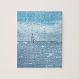Newport-Strand-Segeln Puzzle