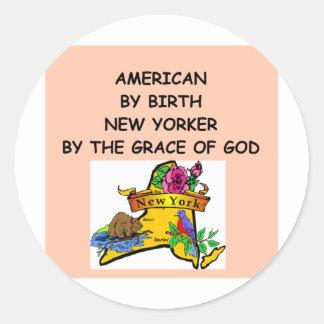 NEWYORK RUNDER STICKER