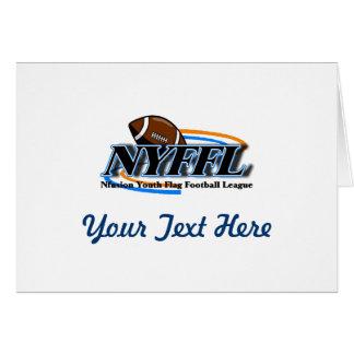 Nfusion Jugend-Flaggen-Fußball Nyffl unter 14 Karte