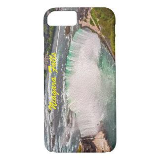 Niagara Falls auf Leinwand-Telefon-Kasten iPhone 8/7 Hülle