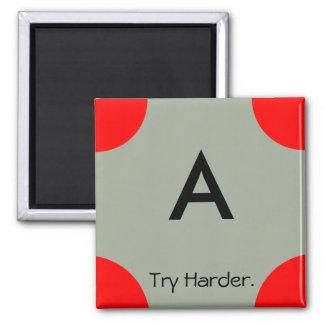 nicht-aufmunternder Gradmagnet (a) Quadratischer Magnet