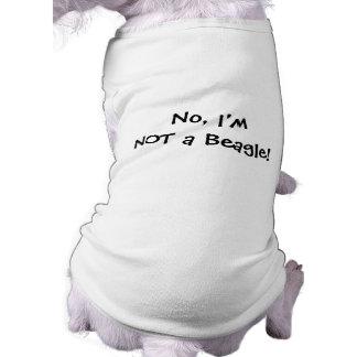NICHT ein Beagle! Hundet-stück für Basset Shirt