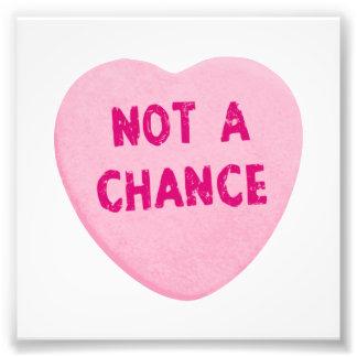 Nicht ein Möglichkeits-Valentinstag-Herz Kunstphotos