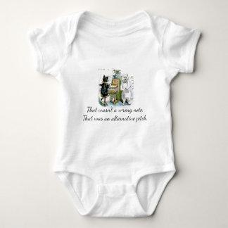 Nicht falsche Anmerkung, alternative Neigung Baby Strampler