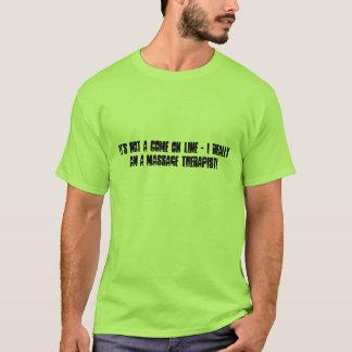 Nicht gerade eine Linie! T-Shirt