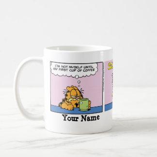 """""""Nicht selbst"""" Garfield-Comic-Streifen Tasse"""