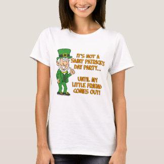Nicht St. Patricks Day bis meinen kleinen Freund T-Shirt