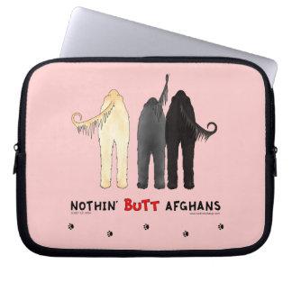 Nichts Hintern-Afghanen Laptop Schutzhülle