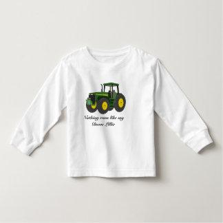 Nichts läuft wie mein Deere Mädchen Kleinkinder T-shirt