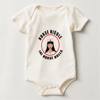 Nicole-Krankenschwester Baby Strampler