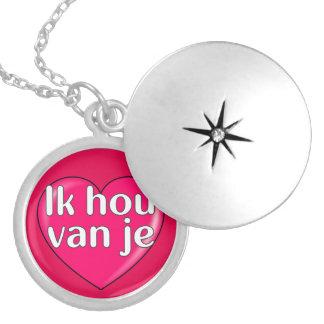 Niederländisch - i-Liebe Sie Anhänger