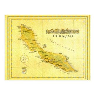 Niederländische Antillen, Curaçao zeichnen auf Postkarte