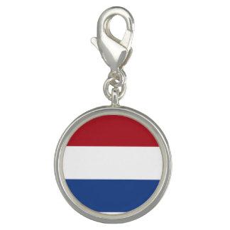 Niederländische Flagge Foto Charm