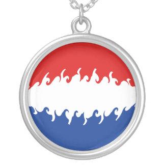 Niederländische Gnarly Flagge Amulett