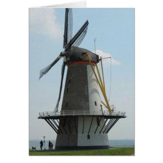 Niederländische Windmühle in Holland Karte