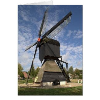 Niederländische Windmühle Karte