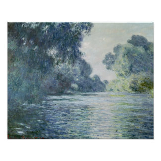 Niederlassung Claude Monets | der Seines nahe Poster