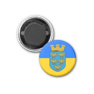 Niederösterreich - Niederösterreich Runder Magnet 2,5 Cm