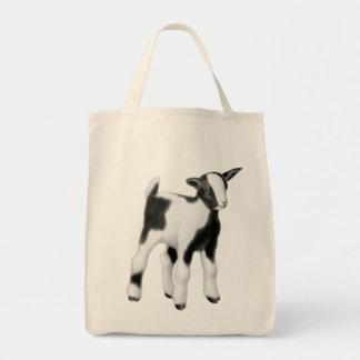 Niedliche Baby-Ziegen-Lebensmittelgeschäft-Tasche Einkaufstasche