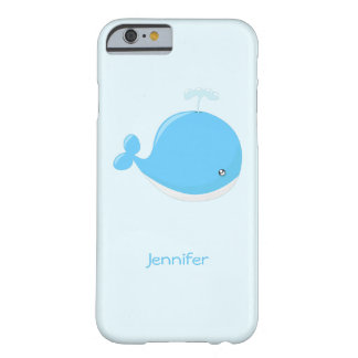 Niedliche Babywal kawaii Cartoonkinder Barely There iPhone 6 Hülle