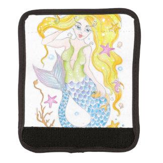 Niedliche blonde Meerjungfrau Gepräckgriffwickel