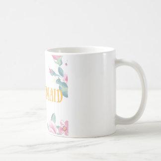 Niedliche Brautjungfern-Tasse Tasse