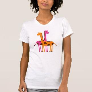 Niedliche Cartoon-Giraffen Shirt