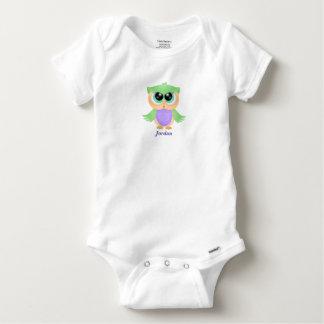 Niedliche das Baby-Eule des Babys Baby Strampler