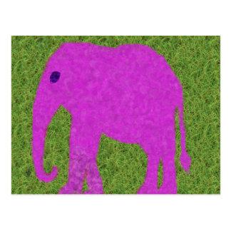 Niedliche Elefant-Postkarte Postkarte