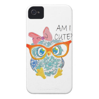Niedliche Eule iPhone 4 Cover