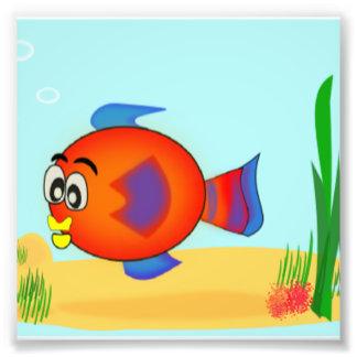 Niedliche Fische Unterwasserszene Kunstphoto