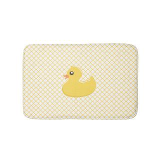 Niedliche gelbe Rubby Ducky Bad-Matte Badematte