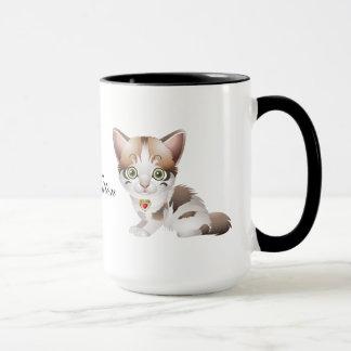 Niedliche Kätzchen-Kaffee-Tasse Tasse